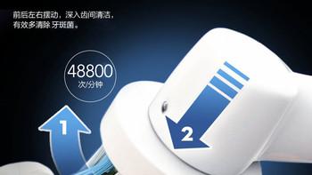博朗 Oral-B Genius 8900 智能电动牙刷使用感受(刷头 按键 支架 锂电池)