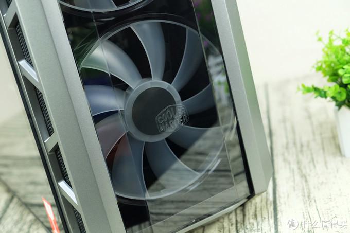 #本站首晒#双20公分RGB风扇,酷冷至尊 H500P