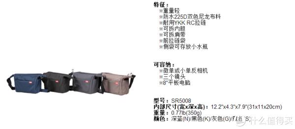 大小刚刚好的休闲相机包,SUIRI 思锐 SL8 + EDC