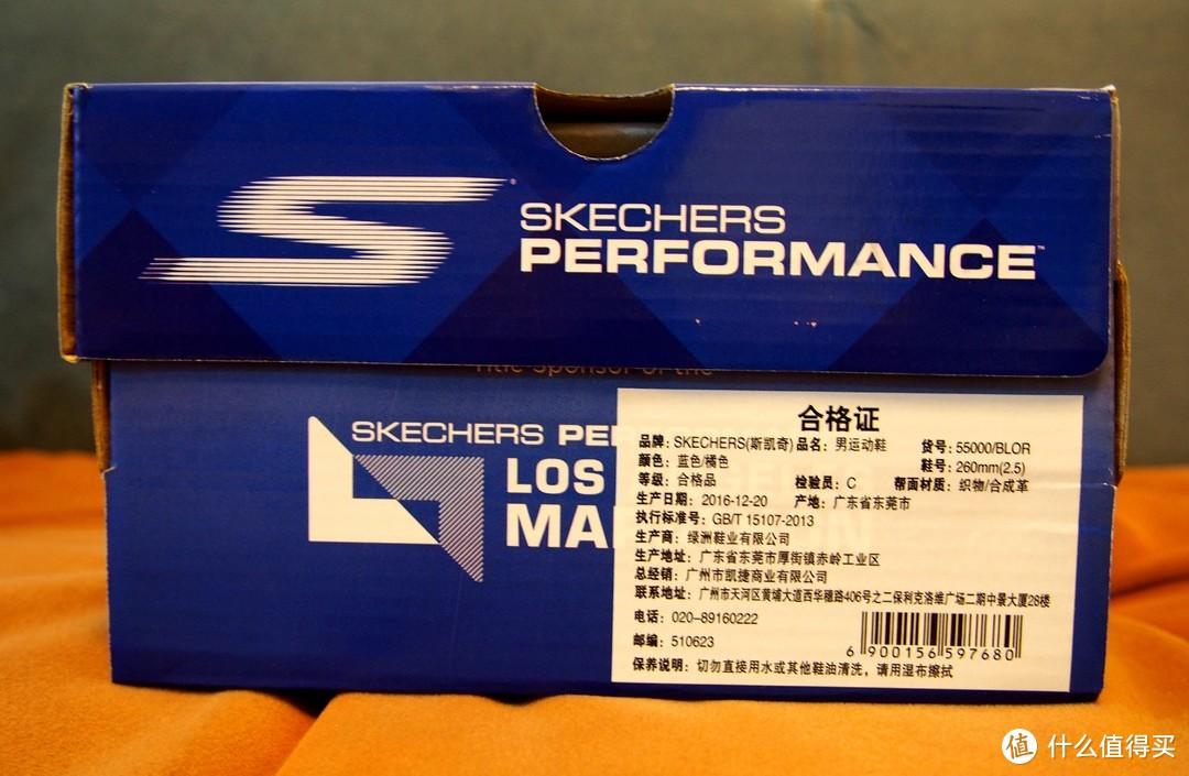 我可能买了双假旗舰 — Skechers 斯凯奇 55000 男鞋 17年新款户外缓震跑鞋 超轻舒适运动鞋
