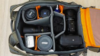 乐摄宝 PROTACTIC 450 AW 2017限量版迷彩色摄影包使用总结(尺寸|开口|捆带|脚架)