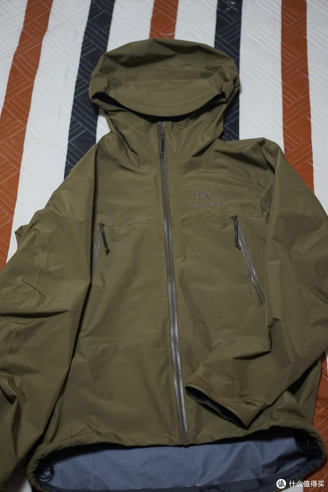 被困在城市的军鸟 ARC'TERYX 始祖鸟 Alpha LT GEN 2 冲锋衣 晒物及使用心得