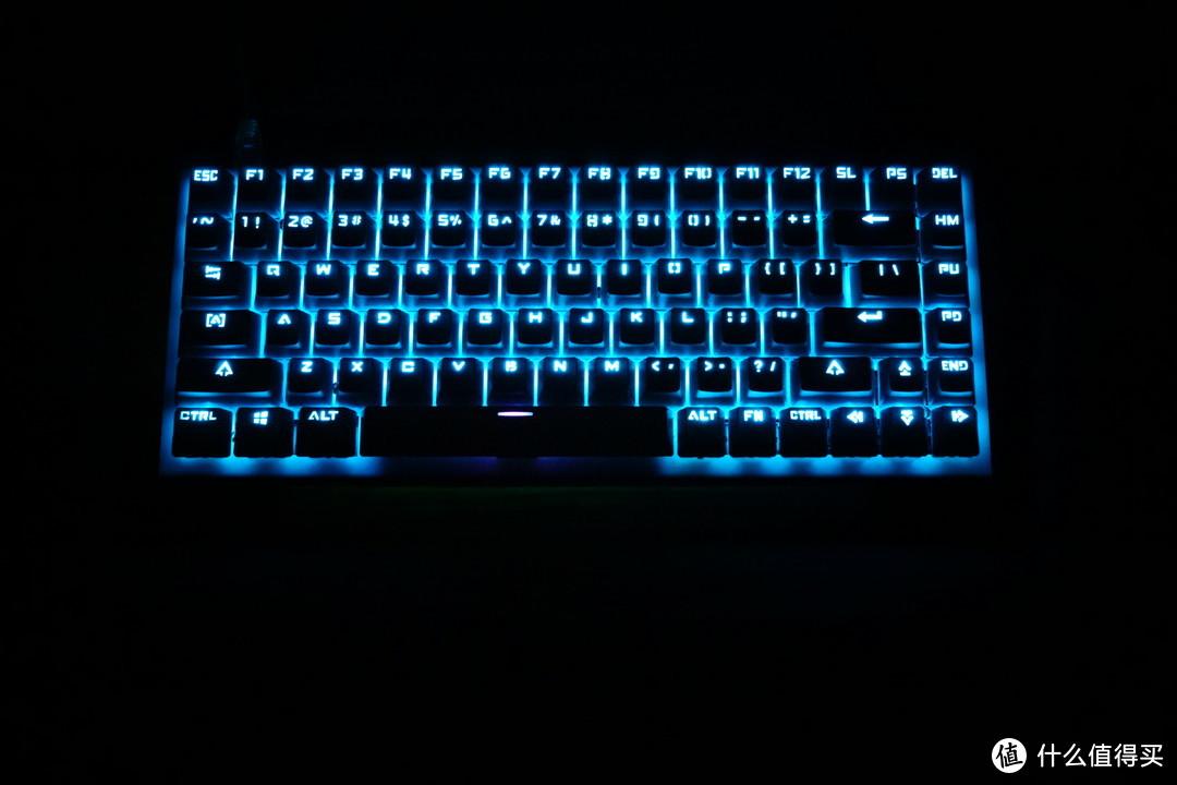 使用奇美拉主控!xd84 樱桃红轴 机械键盘 不锈钢弯折外壳 组装记录