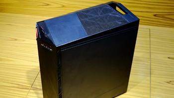 微星 Infinite 无烬A 游戏主机外观展示(接口|开关|前面板|侧透)
