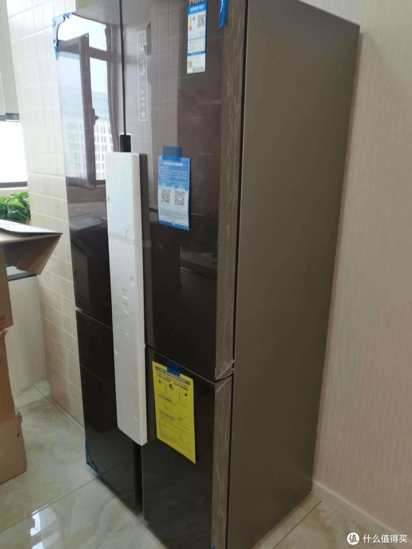 海尔(Haier)BCD-479WDEY 479升 风冷无霜十字对开门冰箱购买历程