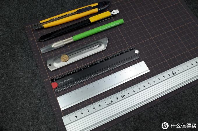 美工小刀与铝合金尺子