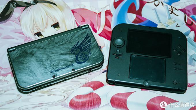 #热征#玩游戏#任添糖3DSLL怪物猎人限定版&