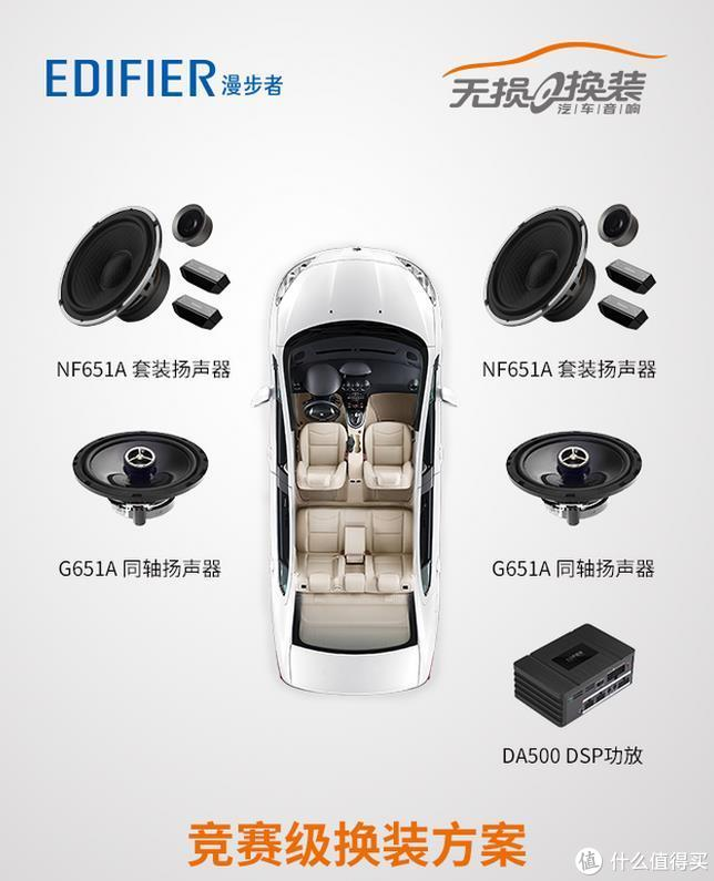 质的改变 奔驰GLK300换装 漫步者 竞赛级汽车音响