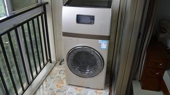 大洗大烘、同洗同干:小天鹅 比佛利 BVL1F150G6 大器复式洗衣机 众测报告