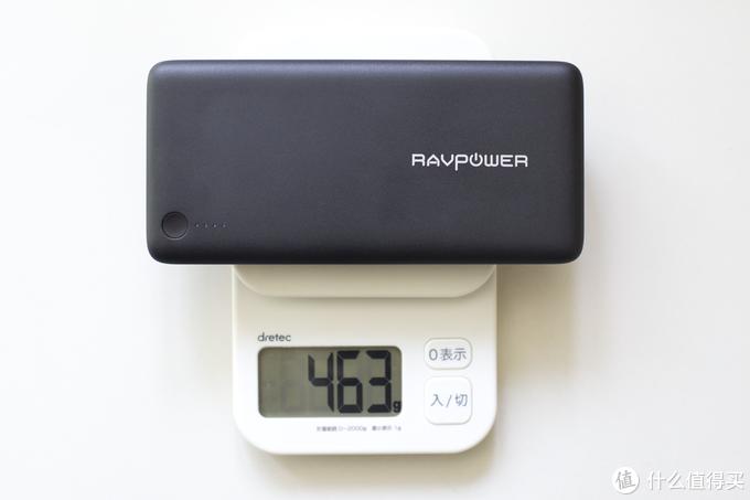 与缺电说Bye Bye - RAVPower RP-PB058移动电源众测报告