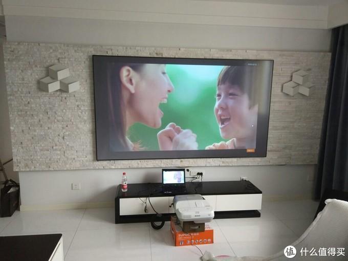 超短焦家庭影院经济之选—海信 菲涅尔 影音巨幕 与 爱普生 eb450w 投影机 体验