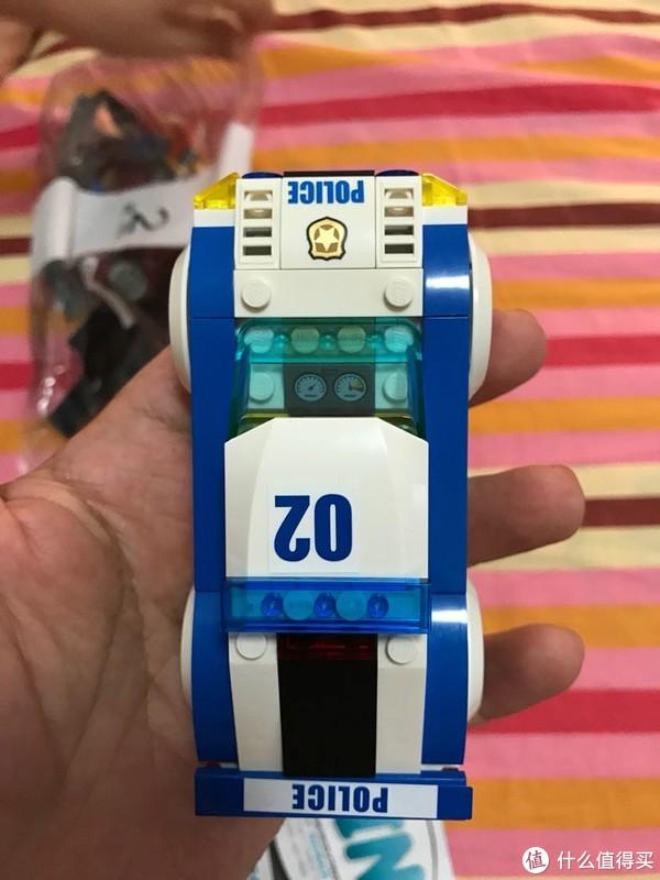 LEGO 乐高 60138一警用直升飞机1警车1汽车套装高速追捕晒单