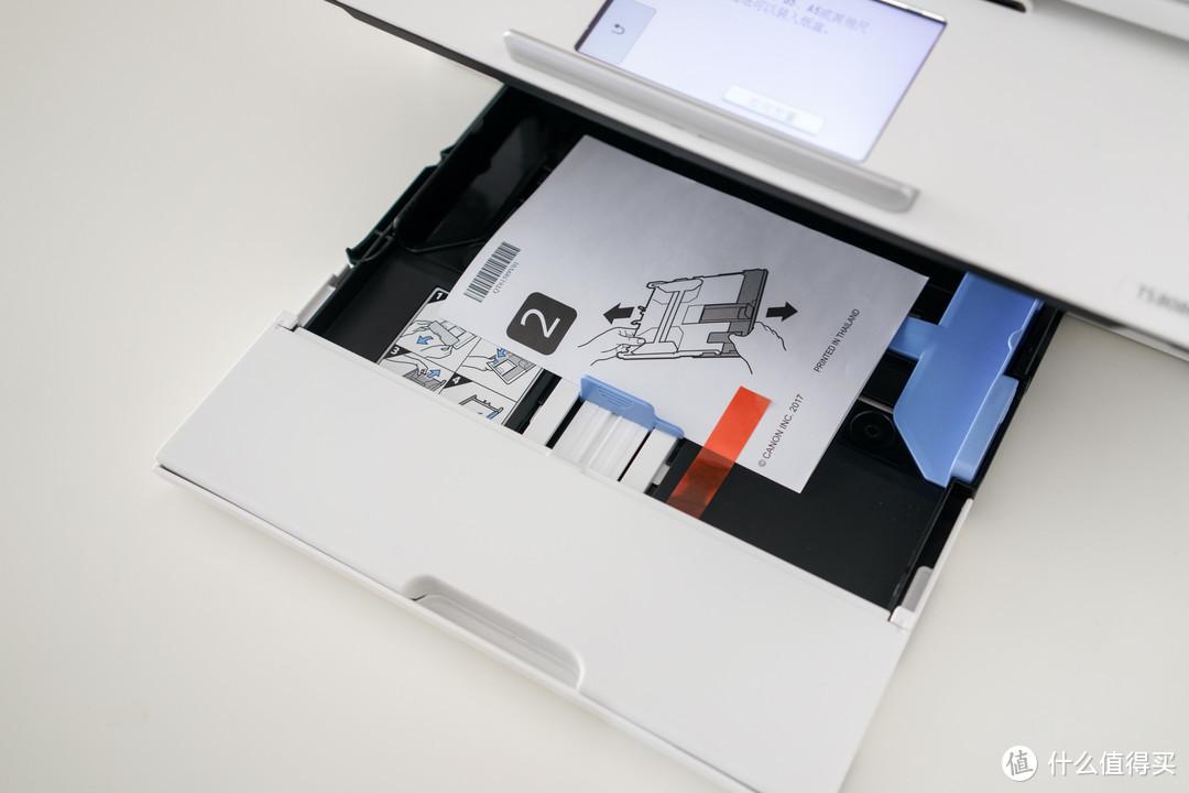 六色照片一体机 Canon 佳能 TS8080,解读连供喷墨系统改装体验