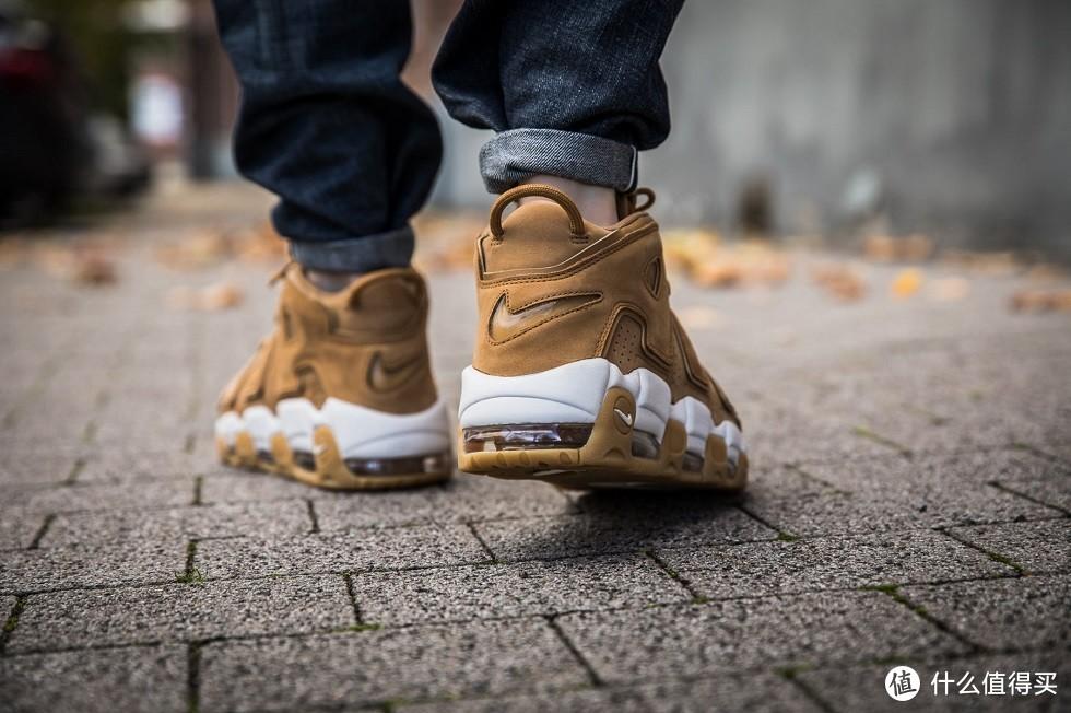初中篮球时光的信仰充值—Nike 耐克 Air More Uptempo '96 Premium'Wheat Pack'休闲鞋 开箱