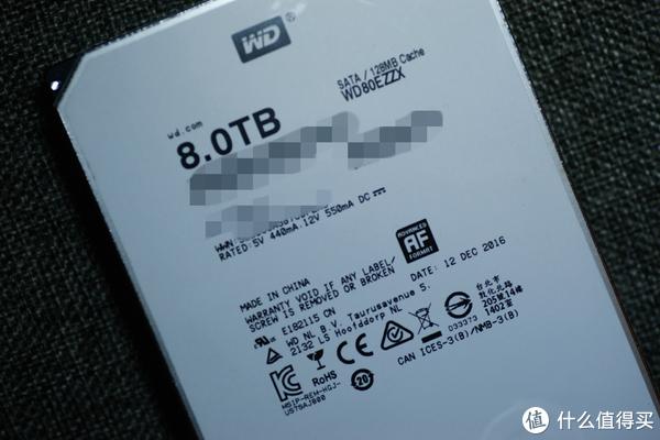 给NAS里的大姐姐换个大房间— WD 西部数据 8TB 外置硬盘 开箱拆解及简评