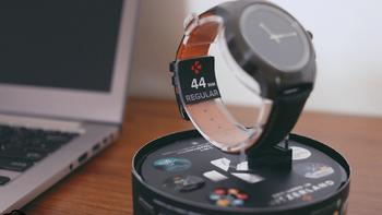 MYKRONOZ手表开箱展示(包装|数据线|底座)
