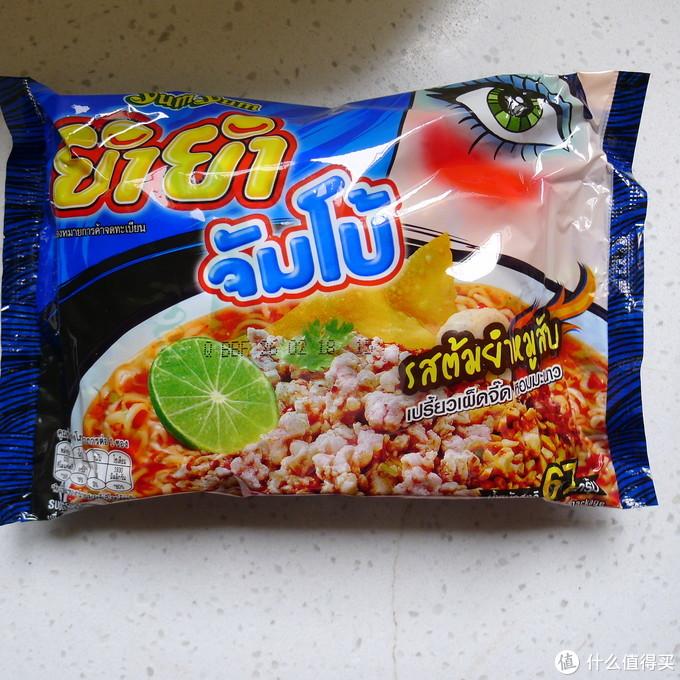 #晒单大赛#泰国进口 养养方便面试吃