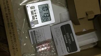 卡西欧 桌面电波钟使用总结(天线|说明书|电池)