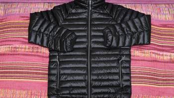 小米 90分 轻量羽绒服外观展示(肩头|面料|拉链|袖口|领口)