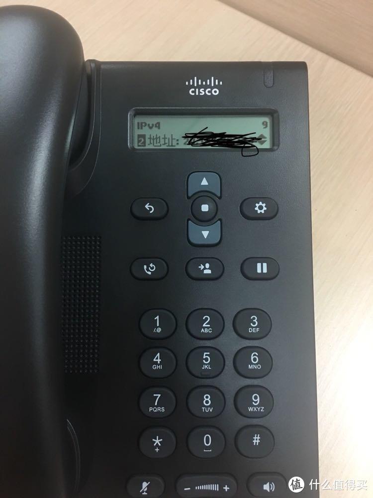 非主流的UC电话:CISCO 思科 CP3095 电话 简晒