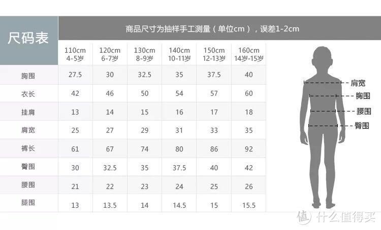 #温暖过冬#三枪 x 迪士尼 儿童莱卡棉保暖内衣套装(附尺码实测)