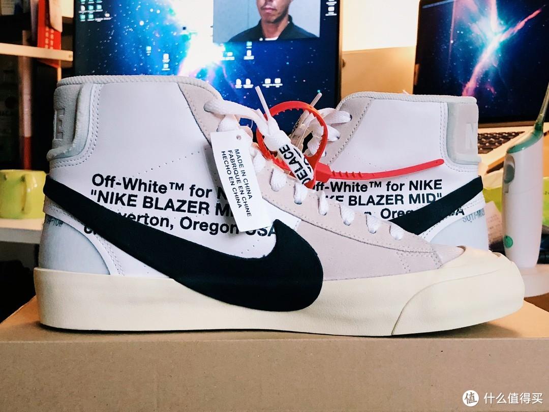 """Nike X Off-White """"TheTen"""" Blazer Mid 限量联名款 首发开箱"""