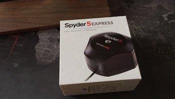 德塔 Spyder 5 Express 绿蜘蛛 屏幕校色仪外观展示(包装 标识)