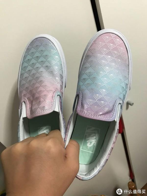 老婆的第一双VANS 范斯 运动鞋开箱晒单+简单评测