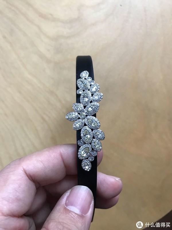 送给老婆的生日礼物:SWAROVSKI 施华洛世奇 天鹅水晶发箍开箱体验