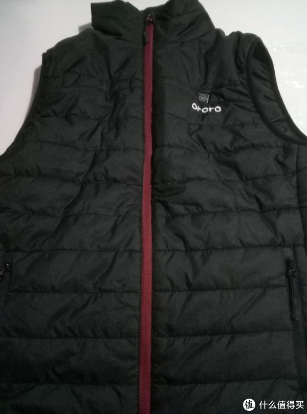 #原创新人#冬天加衫,ORORO 碳纤维加热衣 晒单