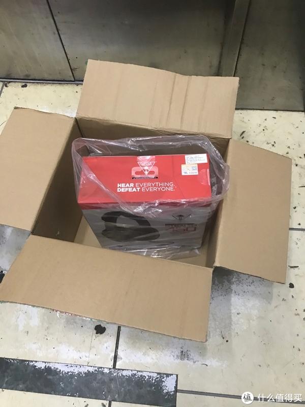 京东对自己的快递有信心啊,箱子里面啥都没填充。