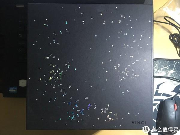 箱子上都是点点的星辰,还是挺有情怀的