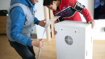 EraClean Fresh 空气净化器安装体验(净化|噪音|耗电)