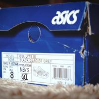 亚瑟士 GEL-Lyte III H7L3L-9096外观展示(鞋舌|脚背|鞋面|脚掌|后跟)