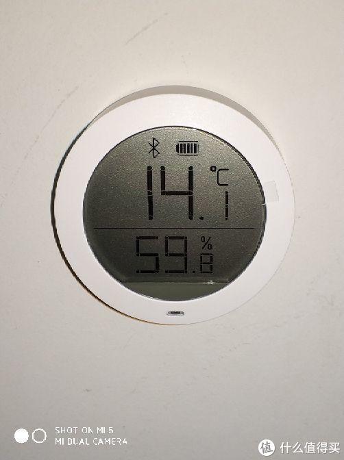 米家蓝牙温湿度计体验
