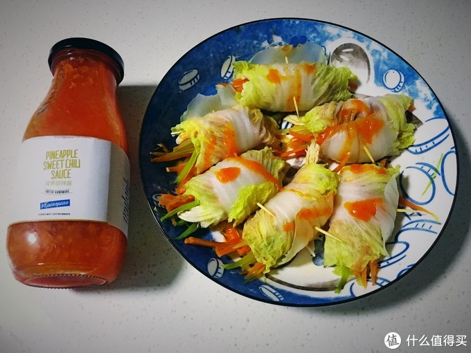 海鲜白菜卷