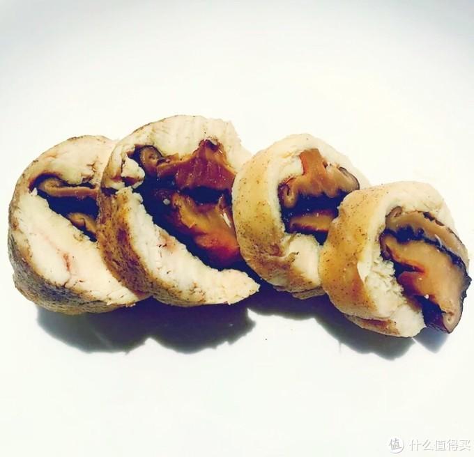 鸡胸肉香菇卷