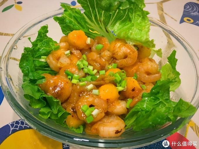 哈密瓜炒虾仁