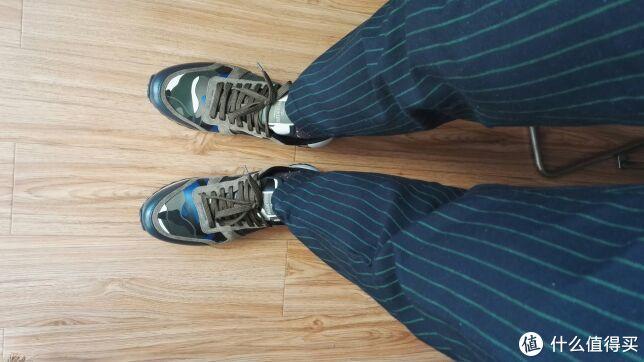 #晒单大赛#迟到的生日礼物—Valentino华伦天奴 迷彩运动鞋 晒单