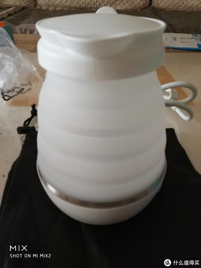 【处体验】nathome 北欧欧慕NSH0603旅行折叠电热水壶