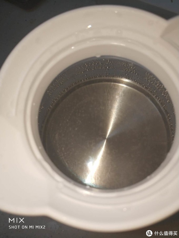 漂浮物,带这一股淡淡的硅胶味,这次煮的水我还是不喝了