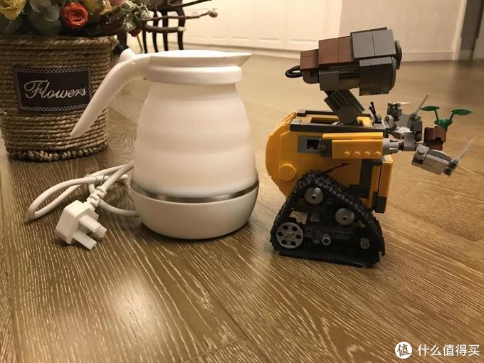 nathome 北欧欧慕NSH0603旅行折叠电热水壶使用评测