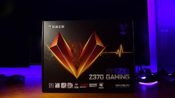 铭瑄 MS-iCraft Z370 Gaming 主板外观展示(接口|设计|插槽)
