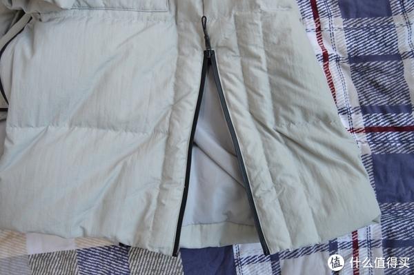 #晒单大赛#茵曼中长款保暖羽绒大衣 到手分享