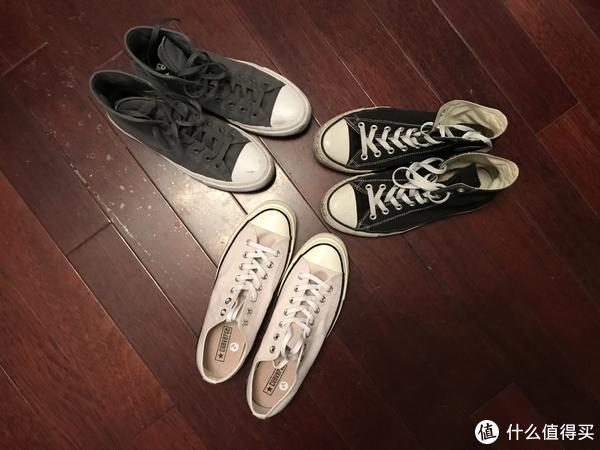 我的第N双鞋 篇二十七:#晒单大赛#年纪大穿骚粉!第12双匡威!CONVERSE 匡威 All Star 70 帆布鞋
