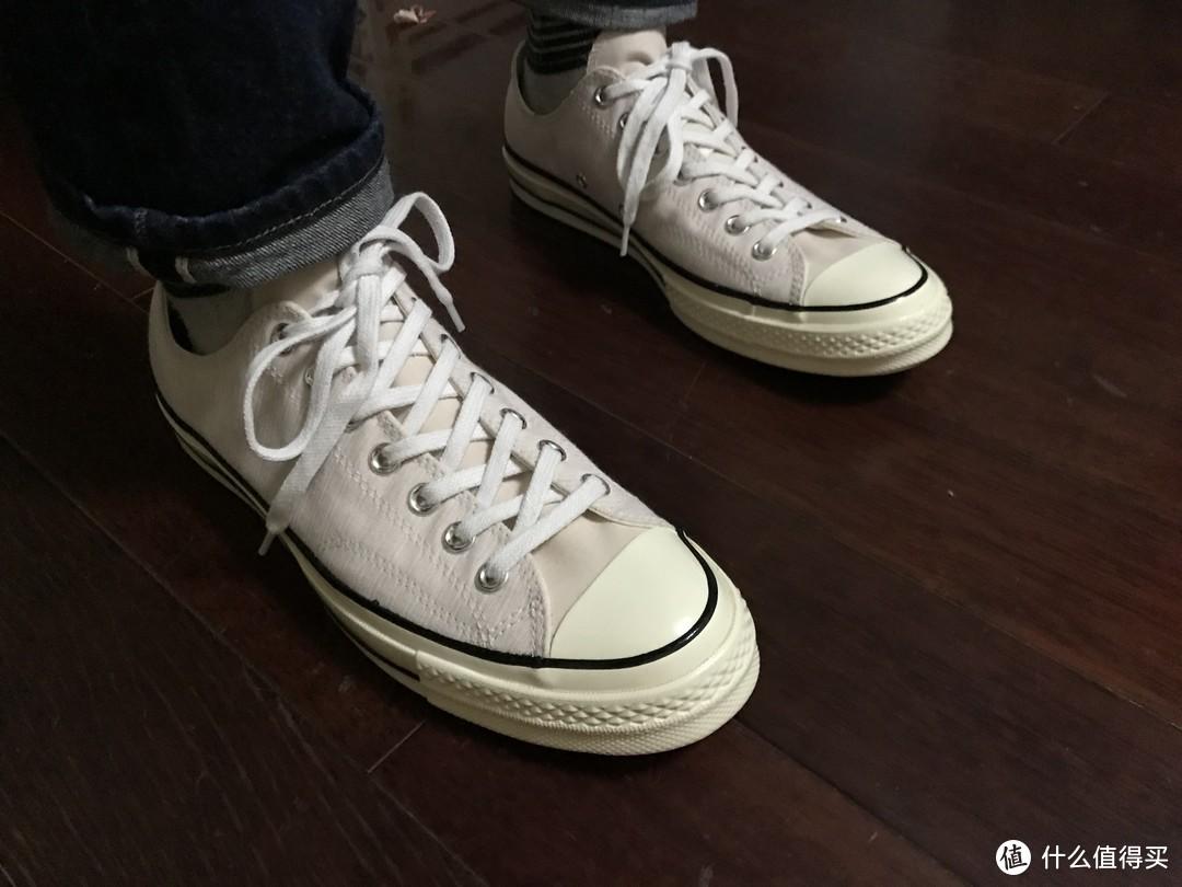 #晒单大赛#年纪大穿骚粉!第12双匡威!CONVERSE 匡威 All Star 70 帆布鞋