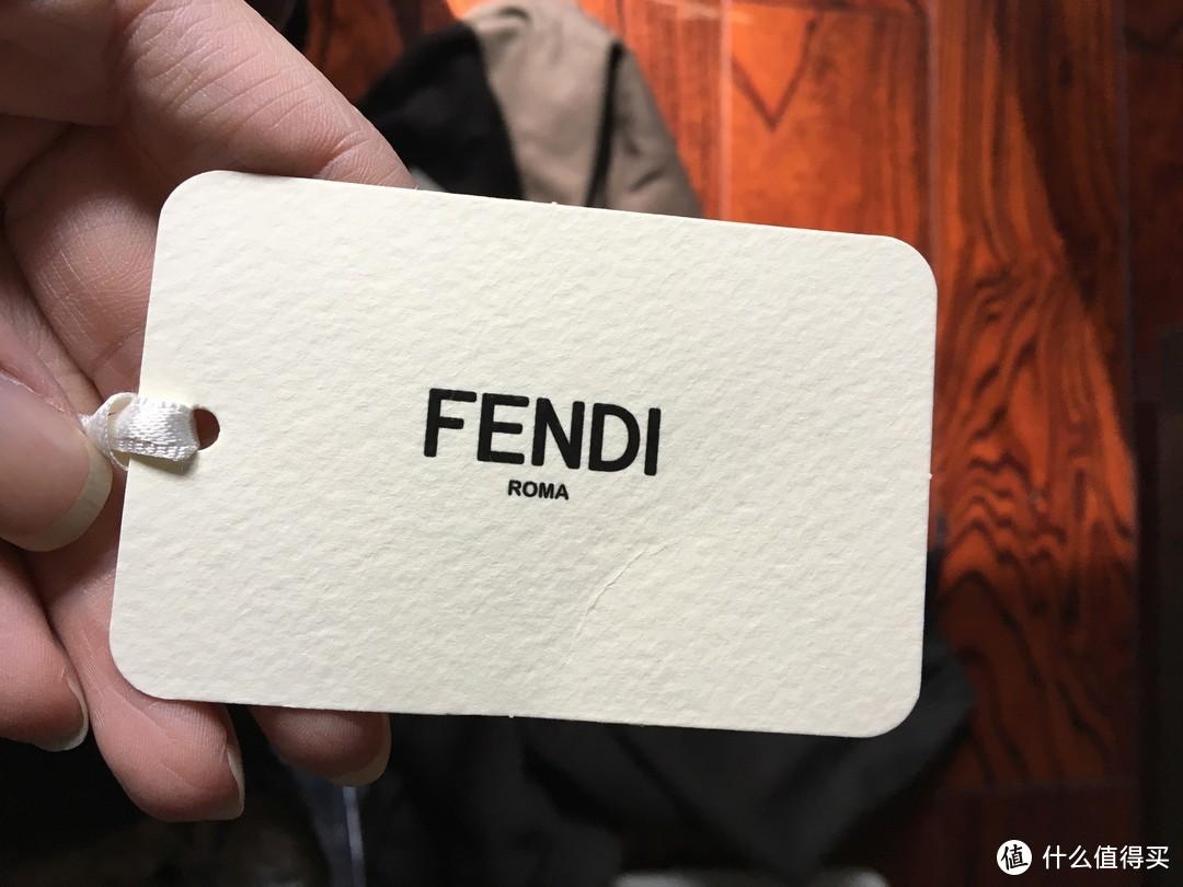 #原创新人# FENDI 小恶魔 书包 海淘记