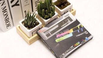 芝奇 幻光戟 RGB内存条套装外观展示(马甲|导光条|厚度)