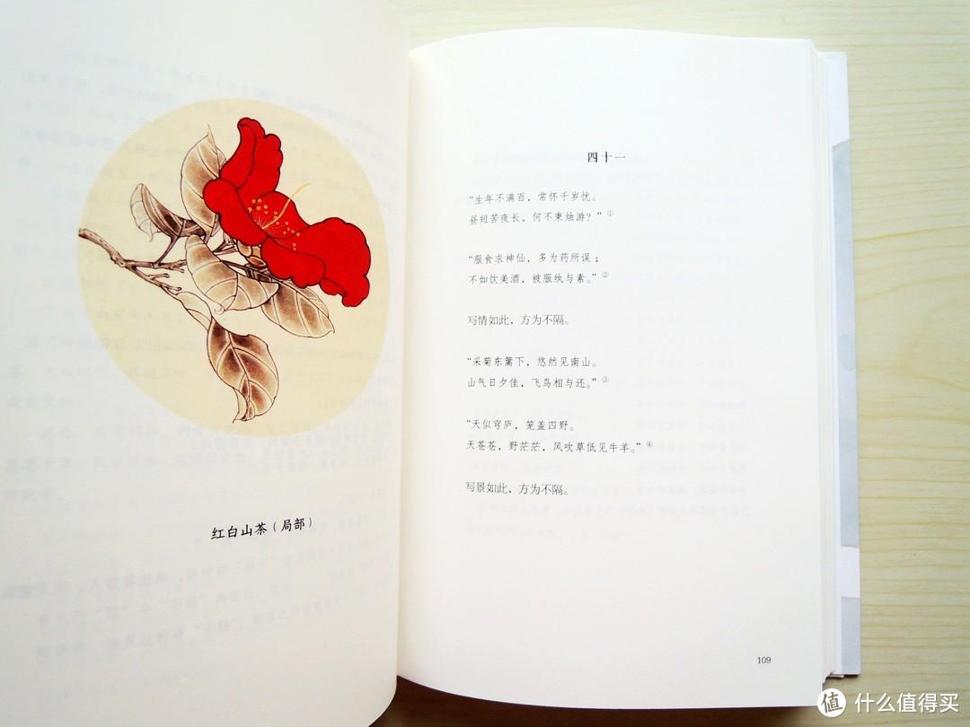#晒单大赛#每天心中开出一朵小花:插画版《声律启蒙》《宋诗选》《人间词话》
