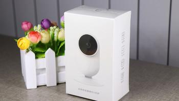 小米 米家 1080P智能摄像机外观展示(主体|电源|镜头|支架|麦克风)